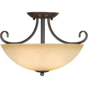 Berkshire - Two Light Semi-Flush Mount
