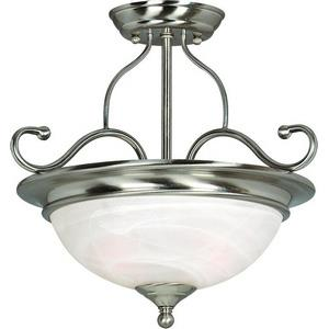 Saturn - Two Light Semi-Flush Mount