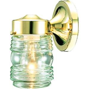 Jelly Jar - One Light Outdoor Wall Mount