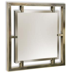 """Henry - 25"""" Square Mirror"""