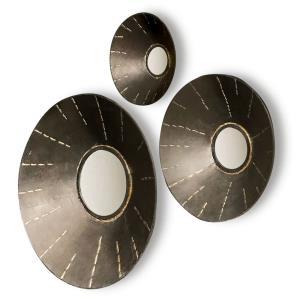 Ladue - 20 Inch Round Mirror (Set Of 3)