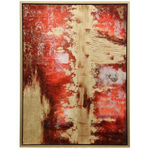 "Berkshire - 42"" Small Framed Hand Painted Art"