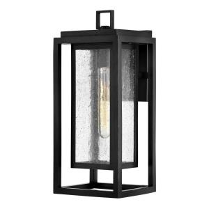 Republic - 1 Light Medium Outdoor Wall Lantern in Transitional Style - 7 Inches Wide by 16 Inches High