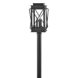 Montecito - 3 Light Medium Outdoor Post Top or Pier Mount Lantern