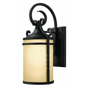 Casa - 1 Light Small Outdoor Wall Lantern in Rustic Style - 7 Inches Wide by 13 Inches High