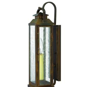 Revere - 1 Light Small Outdoor Wall Lantern in Traditional Style - 4.5 Inches Wide by 17.5 Inches High
