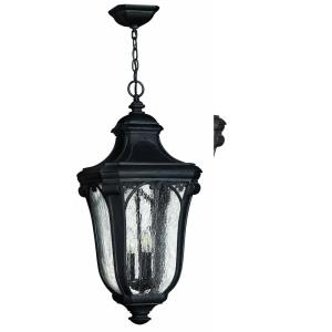 Trafalgar - 3 Light Large Outdoor Hanging Lantern in Traditional Style - 12 Inches Wide by 25 Inches High