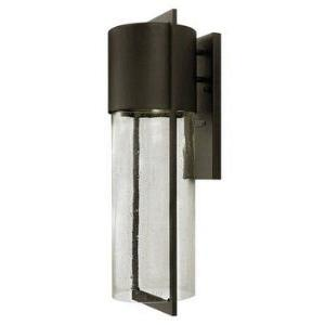 Shelter - One Light Outdoor Large Wall Mount