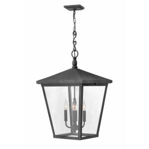 Trellis - 4 Light Extra Large Outdoor Hanging Lantern in Traditional Style - 16 Inches Wide by 31.25 Inches High