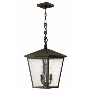 Trellis - Three Light Outdoor Hanging Lantern