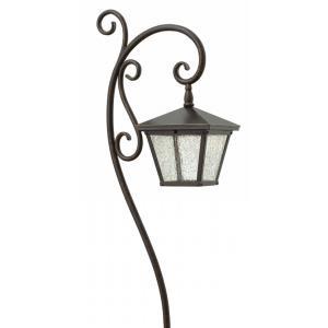 Trellis - Low Voltage One Light Landscape Outdoor Path Lamp
