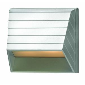 Deck - 1 Light Square Deck Light - 3.5 Inches Wide by 3.25 Inches High