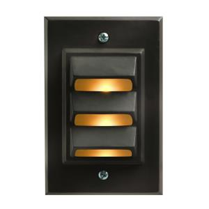 Deck Vertical Led - 1 Light Deck Light - 3.12 Inches Wide by 4.75 Inches High