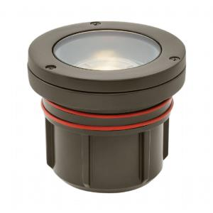 Flat Top Well Light - 1 Led Flat Top Well Light - 4.5 Inches Wide by 4 Inches High