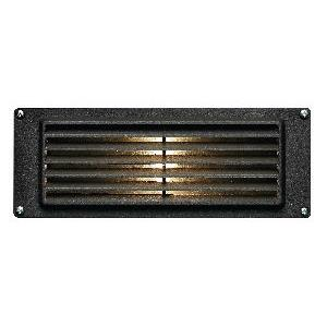 Louvered - Low Voltage 8.8 Inch 3.8W 1 LED Landscape Brick Light