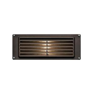 Hardy Island - 8.75 Inch 1.5W 1 LED Louvered Brick Light