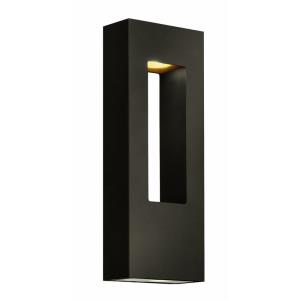 Atlantis - 2 Light Medium Outdoor Wall Lantern in Modern Style - 6 Inches Wide by 16 Inches High