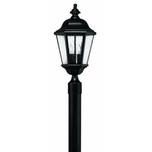 Edgewater - 3 Light Large Outdoor Low Voltage Post Top or Pier Mount Lantern in Traditional Style - 10 Inches Wide by 21.25 Inches High