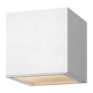 Kube - One Light Outdoor Wall Sconce