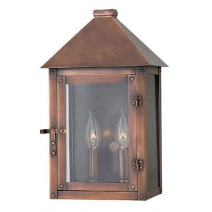 Thatcher - Two Light Outdoor Small Wall Mount
