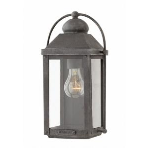 Anchorage - One Light Outdoor Small Wall Mount