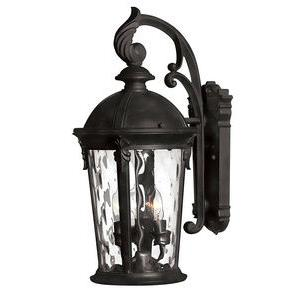 Windsor - Medium Outdoor Wall Mount in Traditional Style - 9.5 Inches Wide by 20.75 Inches High