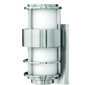 Saturn - 1 Light Small Outdoor Wall Lantern in Modern Style - 6 Inches Wide by 12 Inches High