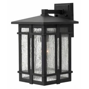 Tucker - One Light Outdoor Wall Mount in Transitional, Craftsman Style - 9 Inches Wide by 14.75 Inches High