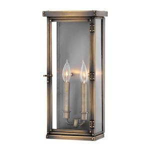 Hamilton - Two Light Outdoor Large Wall Mount