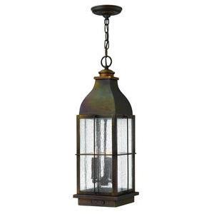 "Bingham - 23.5"" Three Light Outdoor Hanging Lantern"