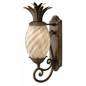 "Plantation - 21.3"" One Light Outdoor Wall Lantern"