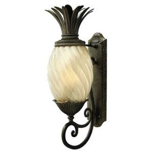 "Plantation - 28"" One Light Outdoor Wall Lantern"