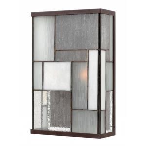 Mondrian - One Light Outdoor Medium Wall Mount