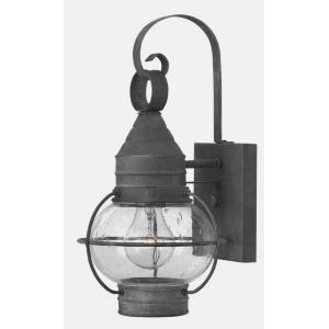 Cape Cod - 1 Light Extra Small Outdoor Wall Lantern in Traditional, Coastal Style - 7 Inches Wide by 14 Inches High