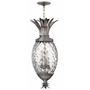 Plantation - 4 Light Large Pendant in Traditional, Glam Style - 12.5 Inches Wide by 28.5 Inches High