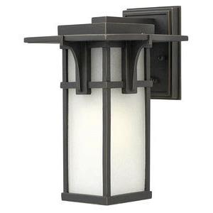 Manhattan - One Light Small Outdoor Wall Mount