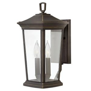 "Bromley - 15.5"" 10W 2 LED Outdoor Small Wall Lantern"