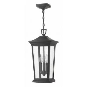 Bromley - 3 Light Large Outdoor Hanging Lantern in Traditional Style - 10 Inches Wide by 19.25 Inches High