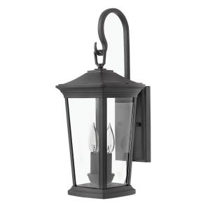 Bromley - 19.75 Inch 2 Light Outdoor Small Wall Mount