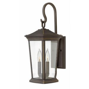 Bromley - 19.75 Inch Two Light Outdoor Small Wall Mount