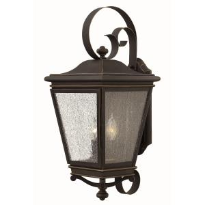 Lincoln 23.25 Inch Outdoor Wall Lantern  Cast Aluminum