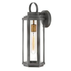 Danbury - One Light Outdoor Medium Wall Lantern
