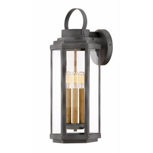 Danbury - Three Light Outdoor Large Wall Lantern
