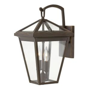Alford Place - 2 Light Small Outdoor Wall Lantern in Traditional Style - 8 Inches Wide by 14 Inches High