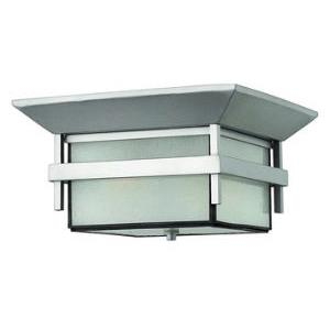 Harbor - One Light Outdoor Flush Mount