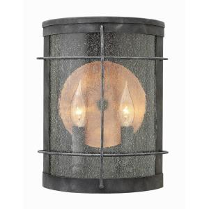 Newport - Two Light Outdoor Wall Sconce