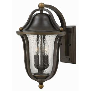 Bolla 15.75 Inch Outdoor Wall Lantern  Solid Brass Approved for Wet Locations