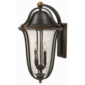 Bolla 26 Inch Outdoor Wall Lantern  Solid Brass Approved for Wet Locations