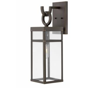 Porter - 1 Light Medium Outdoor Wall Lantern in Transitional Style - 6.5 Inches Wide by 22 Inches High