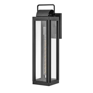 Sag Harbor - 1 Light Large Outdoor Wall Lantern in Traditional, Coastal Style - 5.5 Inches Wide by 21.25 Inches High